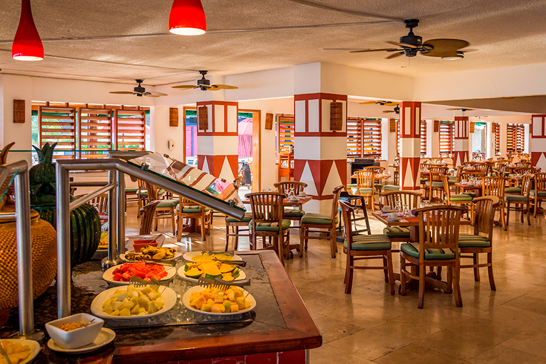 Buffet Decameron Club Caribbean Jamaica