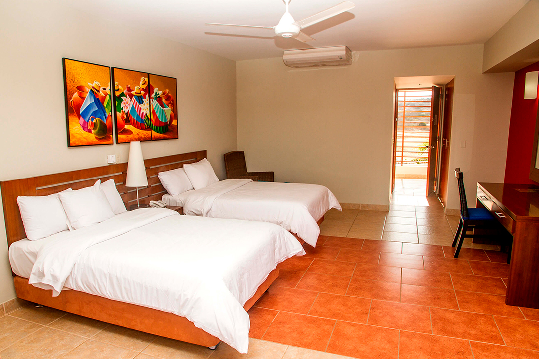 Habitación Familiar Decameron Punta Sal